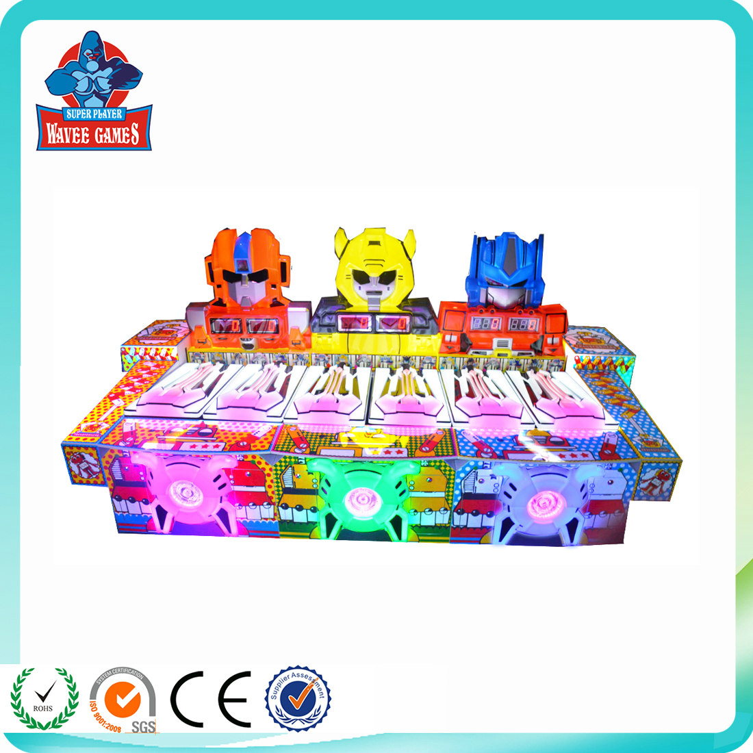 New Rolling Ball Coin Operated Arcade Kids Game Machine