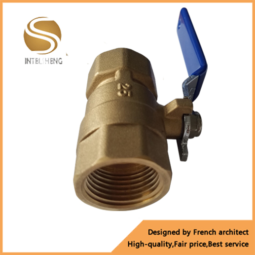 forged cw617n valve dn 15-50 brass ball valve for water