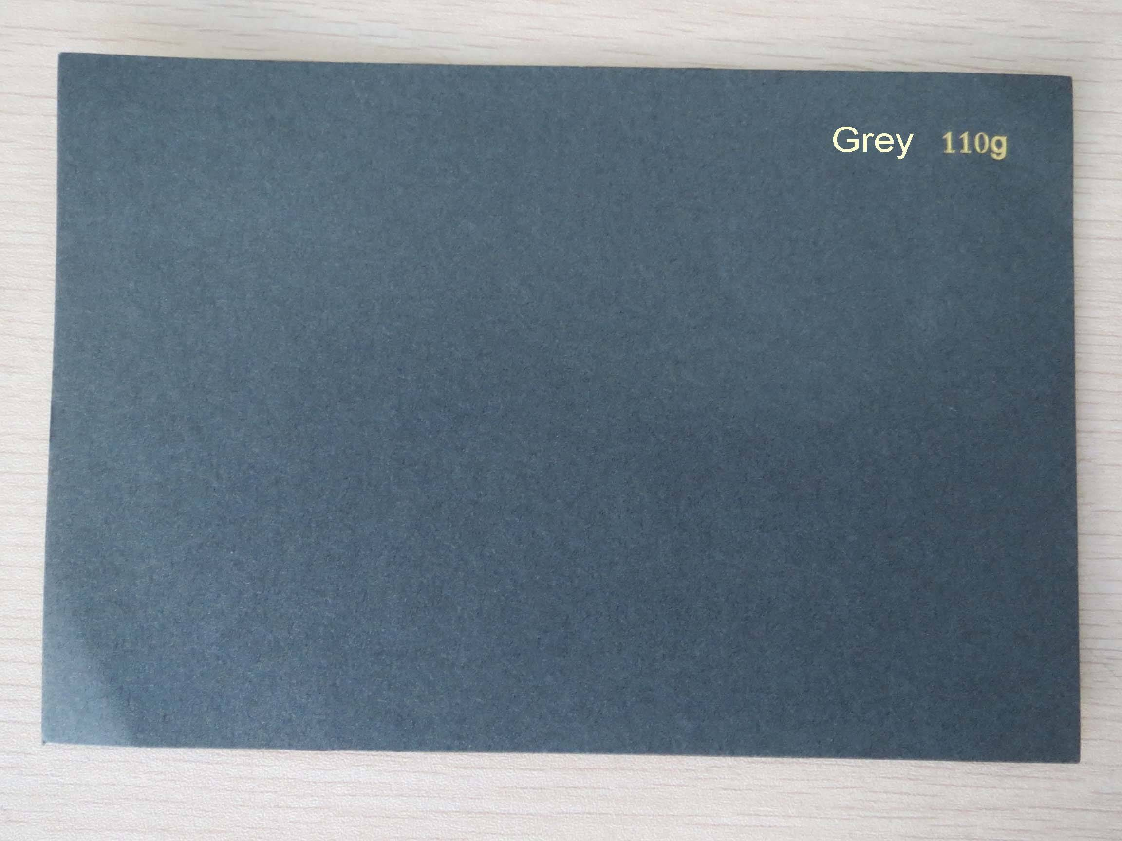 110g Grey Cardboard, Grey Paperboard, Colored Paper