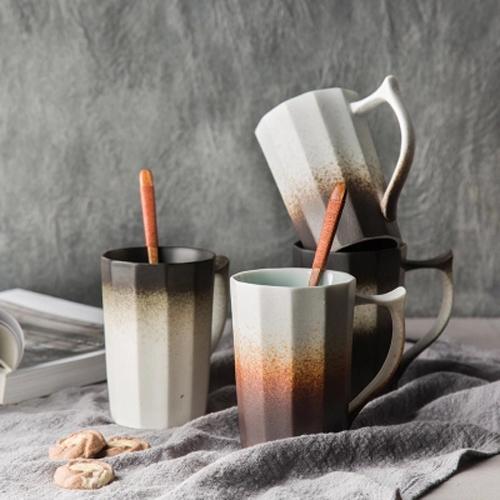 Gradient Ramp ceramic mugs