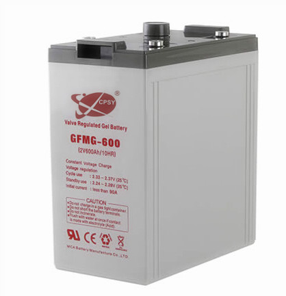 solar gel batteries 2V 600Ah deep cycle gel battery