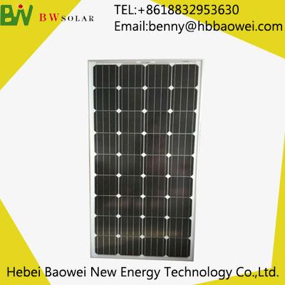 BAOWEI-80-36M Monocryslline Solar Module