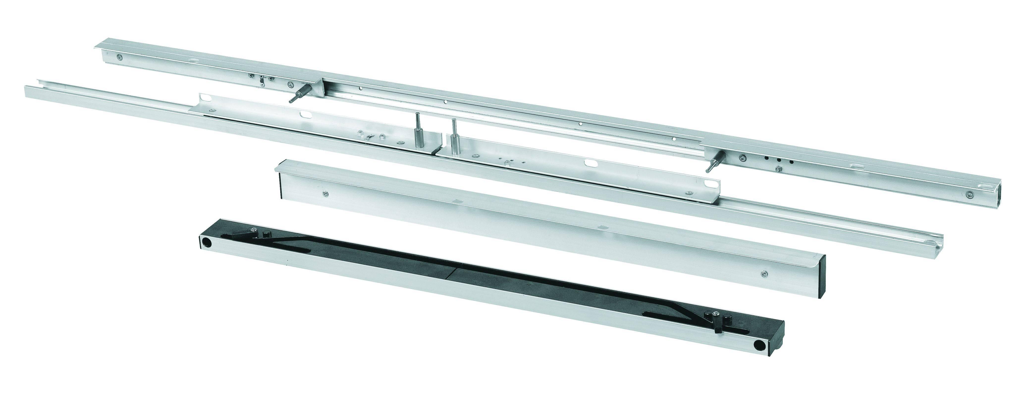 A02 Aluminum automatic Lifting & Falling Slide