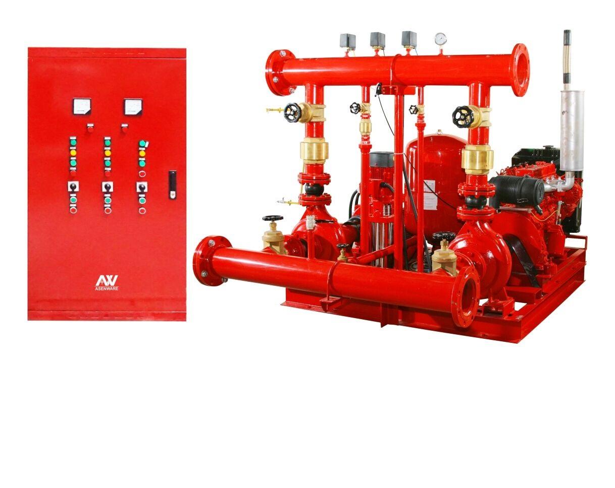 Fire pump set Diesel pump Electric Engine pump Jockey pump