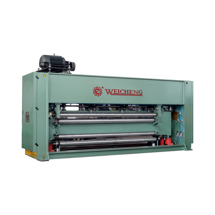 New Process weicheng Automatic Nonwoven Chemical Fibre paper carpet needle loom machine