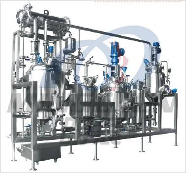 Mini Multiple-Function Extracting, Concentration and Recycle Machine-Group