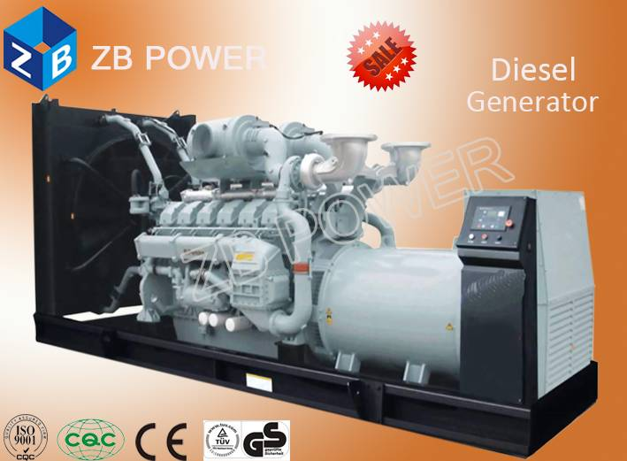 China Manufacturer 1000KW Cummins Diesel Generator with Global Warranty