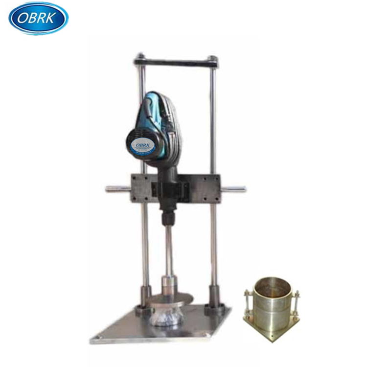 Soil Compaction Test Apparatus Electric Vibrating Compaction Hammer