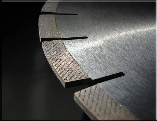 Granite Edge Cutting Saw Blade & Segments