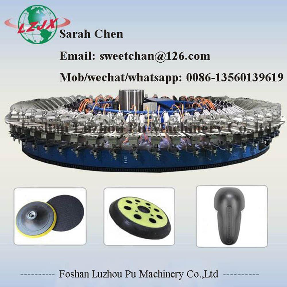 sports arm protection and knee pad foaming pu rotary machine
