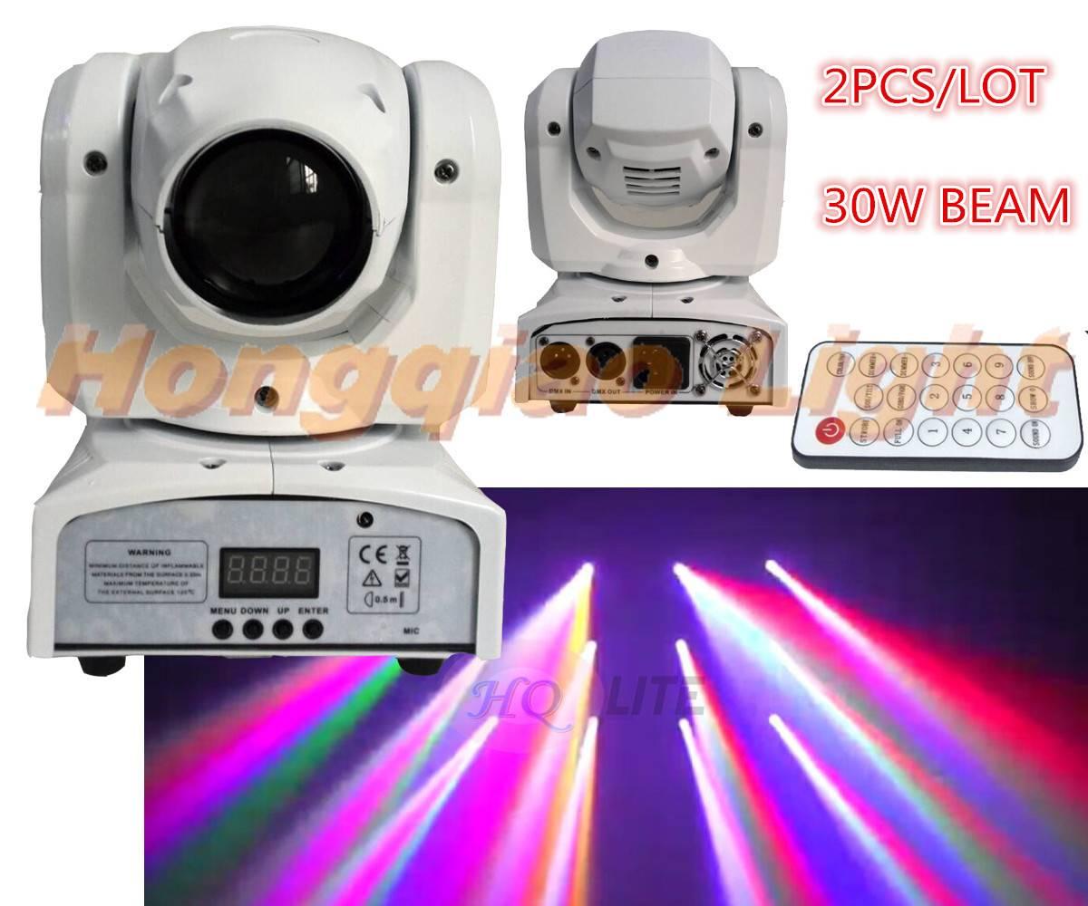 35w 7in1 RGBWAUV P LED BEAM mini moving head