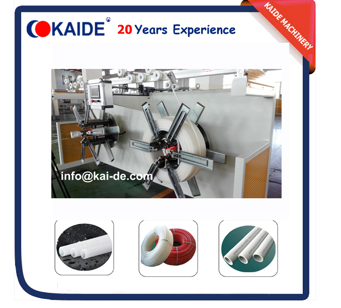 High speed PERT tube extrusion machine 16mm-32mm