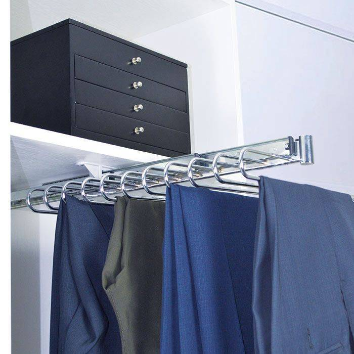 Top Mounted Pull Out Trousers Rack