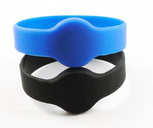 Waterproof Ellispe silicon rfid wristband