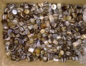 gemstone jewelry africa jade stone ethnic style gift diy cylinder beads decorative necklace
