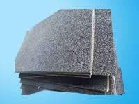 Slow rebound rubber pad