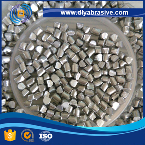 Blasting Abrasive Aluminium Cut Wire Shot For Cleaning The Surface