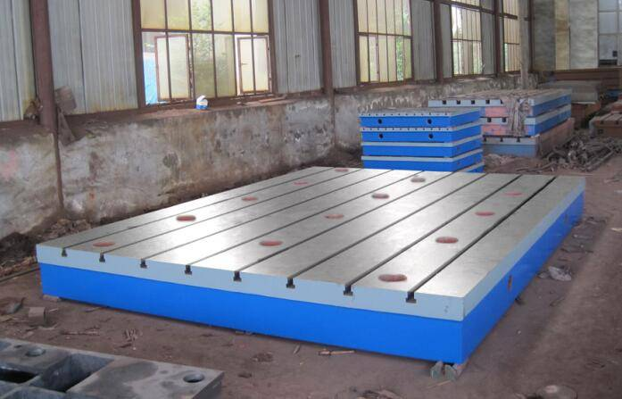 Cast Iron Surface Plate for Experiment