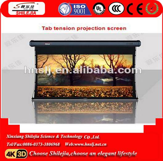 Welfare factory made  Middle east and Africa popular  Projector screen motorized