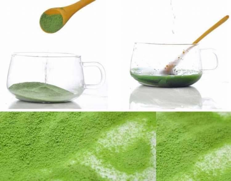 Natural Ultra Fine Green Wheat Grass Powder 300mesh