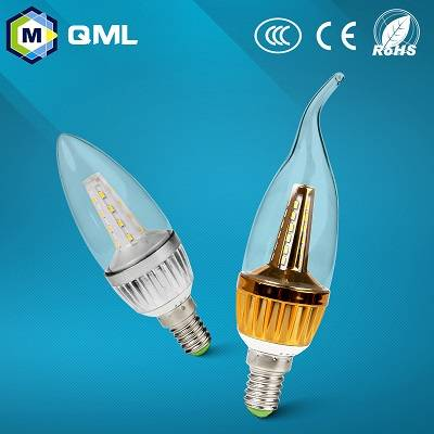 3w/5w E14 led candle bulbs price for indoor using with CE,3C,RoHS certification