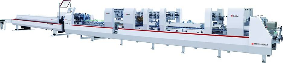 Folding and Gluing Machine (Folder Gluer) Apollo-80FC
