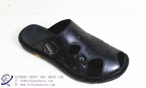 casual  leather slippers