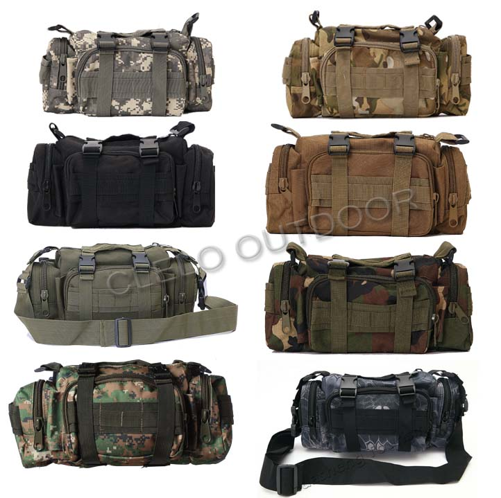 USA Molle II Kryptek Highlander Camo Army Military Waist Butt Fanny Bag