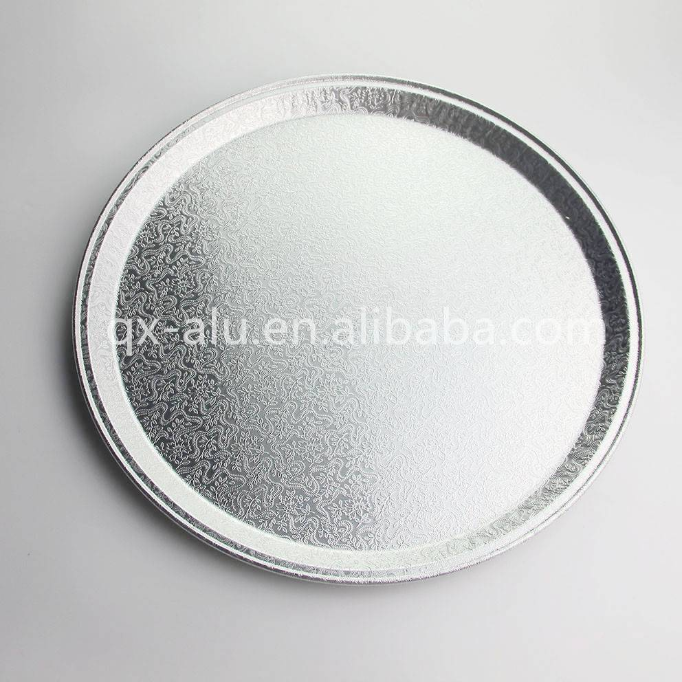 Square aluminum foil pan disposable pizza pan