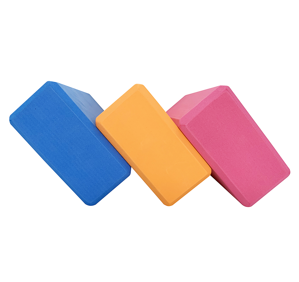 High Density EVA Foam Exercises Yoga Block