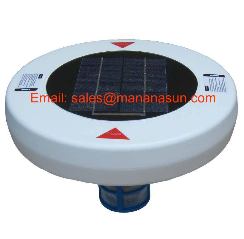 Solar Pool Ionizer Beneficial to Inhibit the Growth of Algae & Microorganism