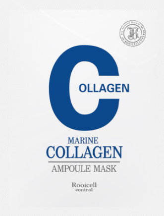 Skin Care Anti aging anti wrinkle Rooicell Marine Collagen Ampoule Mask 25ml10ea