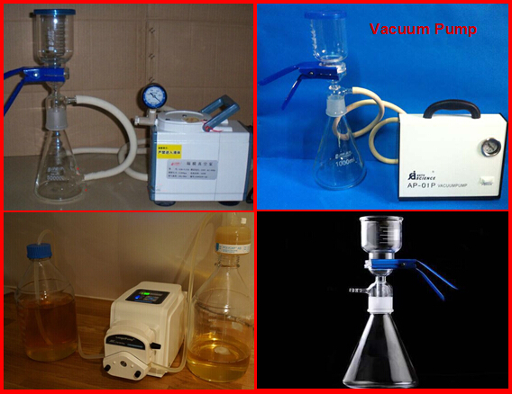 Vacuum Filter Pump Filter for Steroids Injection