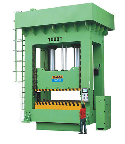 Sliding Frame Precision Hydraulic Molding Machine