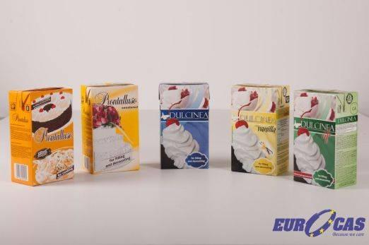 Non dairy cream - Dulcinea vanilla