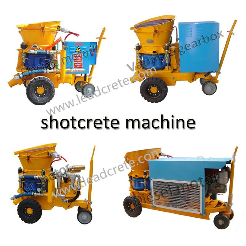 LZ-5 gunite machine