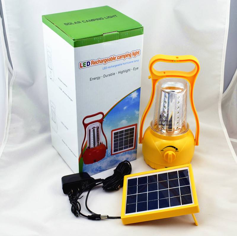 35 LED new designed solar camping lights with mobile charger