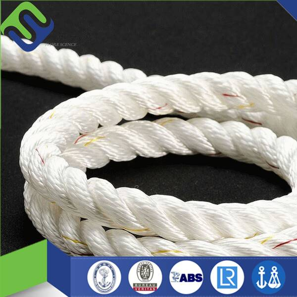 3 strand polyamide rope with free sample for sale