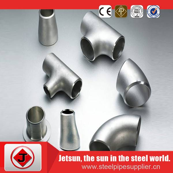 A105 sch20 forged seamless butt welded carbon steel elbow-45 LR