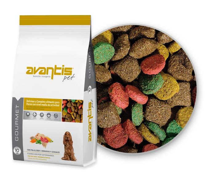 AvantisPet Gourmet dog food for mini breeds