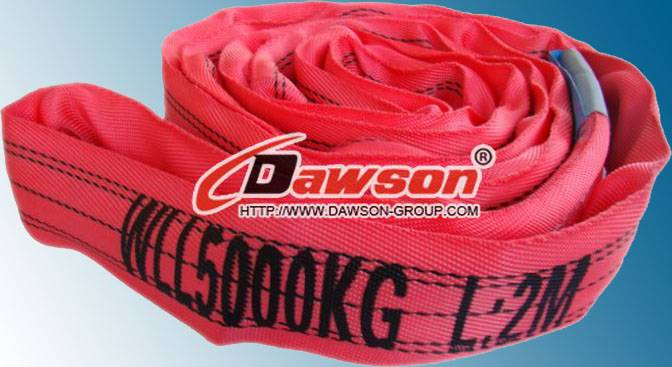 WLL 5Ton Polyester Endless Round Slings