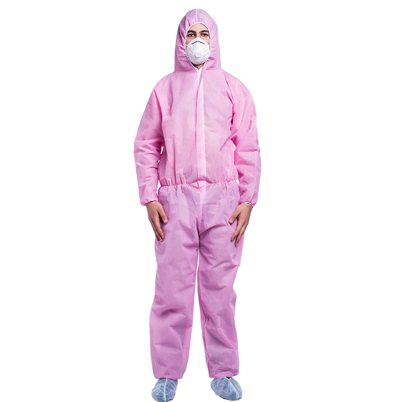 Disposable coverall/gown with Microprocessor protective garment safety surgical isolation suit
