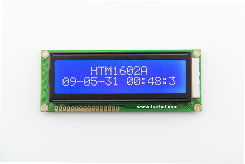 16x2--Moderate size 16x2 character dot matrix module(HTM1602-9)