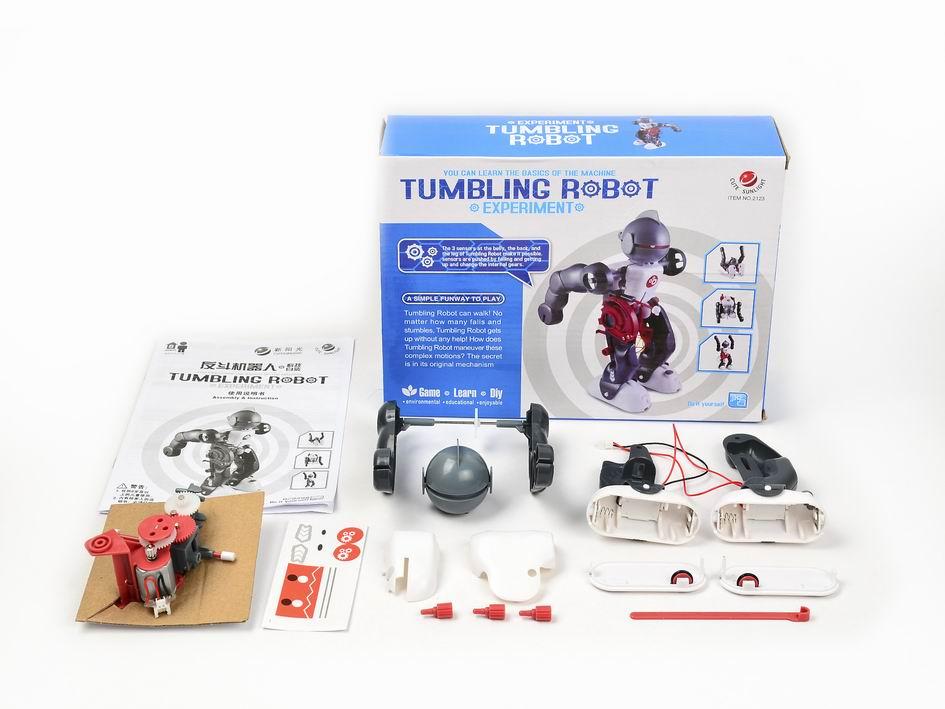 DIY B/O TUMBLING ROBOT