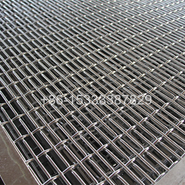 Hot-dipped Galvanized Crimped Woven Wire Mesh