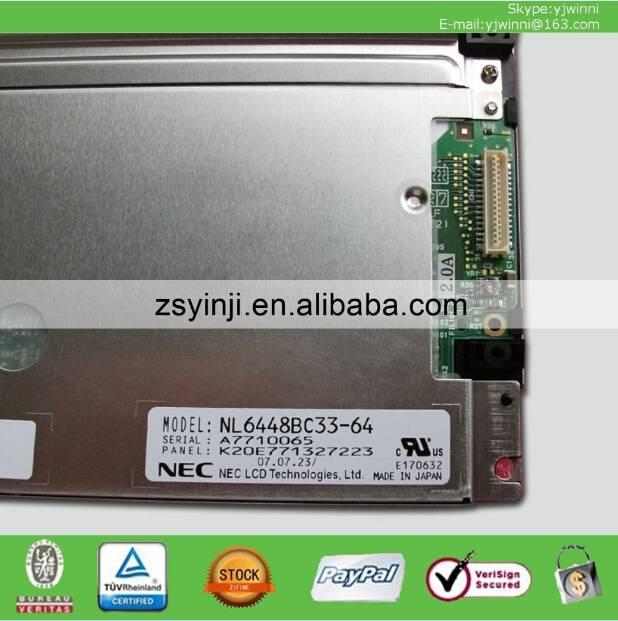 NL6448BC33-64 NEC 10.4INCH 640*480 TFT LCD MODULE