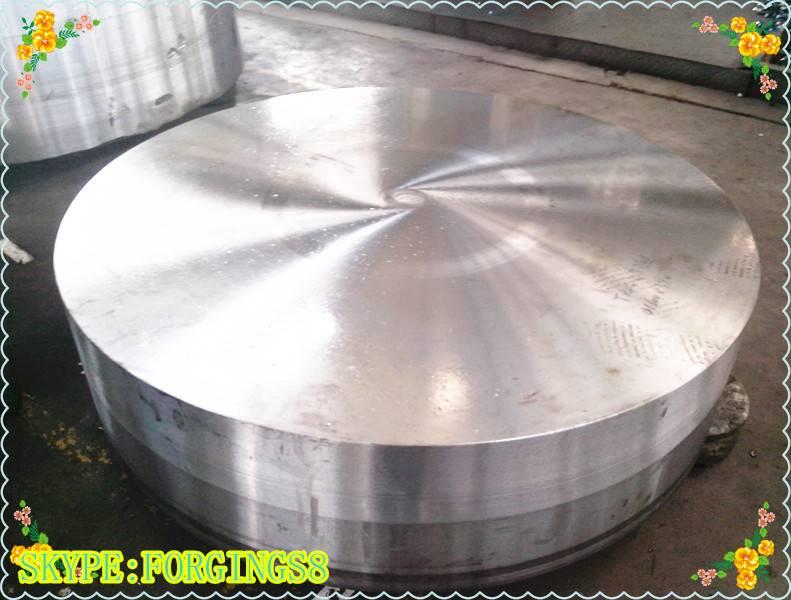 DIN JB4730 Heavy Forging 16Mn, 20MnMoNb Alloy Steel Tube Sheet Plate, Disc Forgings