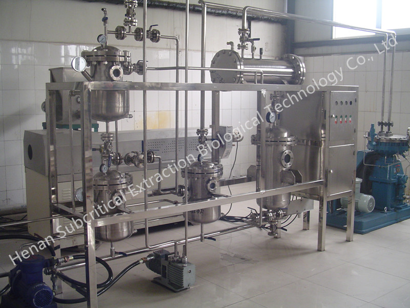Low Temperature Extraction Machine for Borage seed oil