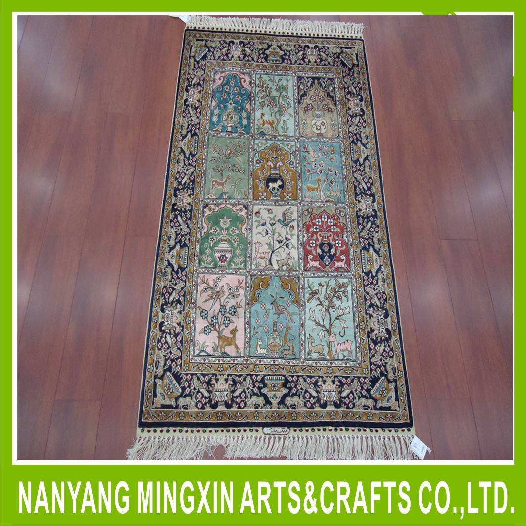 Hand Knotted Chinese silk carpets Prices