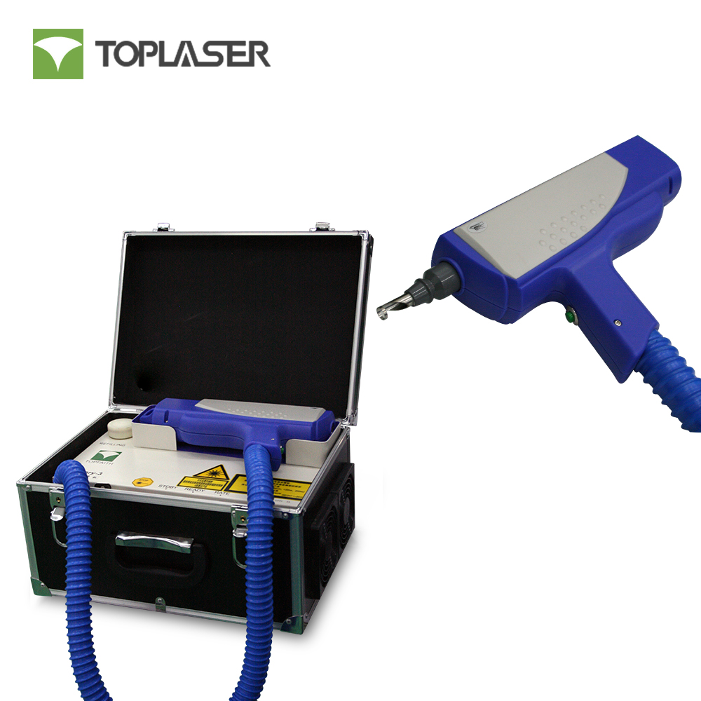 Portable Q-switched Nd Yag pigment and Tattoo Removal Laser Machine